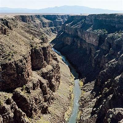 Rio Grande Gorge Bridge - Taos NM Sunset