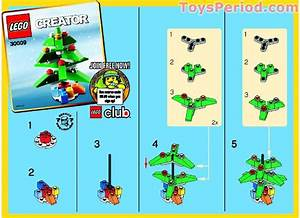 Lego 30009 Christmas Tree Set Parts Inventory And