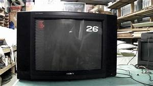 Classic Sony Crt  The Kv-c27