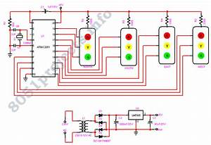 Traffic Light Controller Under Mcu Circuits