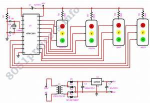 Traffic Light Controller  At89c2051
