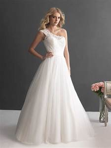 chinese country lace wedding dress one shoulder tulle With lace tulle wedding dress