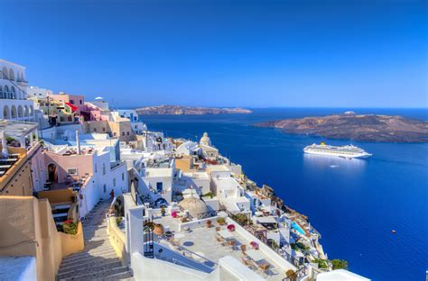 santorini wallpapers hd images  santorini ultra