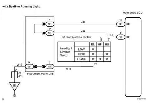 Sequoia Headlight Wiring Connector Diagram Toyota