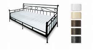Tagesbett Metall Dänisches Bettenlager : nostalgisches tagesbett aus metall 80x200 cm plata ~ Bigdaddyawards.com Haus und Dekorationen