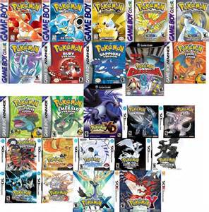 my current obsession pokemon games