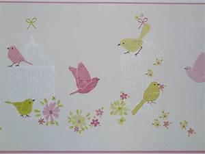 Kinderzimmer Bordüre Mädchen : girls only kinderzimmer bord re v gel rosa gr n gln 6203 4178 euro pro m ebay ~ Sanjose-hotels-ca.com Haus und Dekorationen