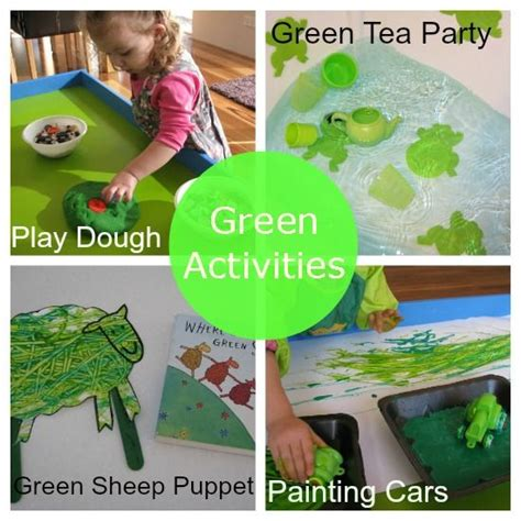 learning colours green activities color activities 701 | 4619f16de5bf59008e4d769a6d332376