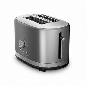 Kitchen Aid Toaster : kitchenaid kmt2116cu 2 slice slot toaster with high lift lever contour silver ebay ~ Yasmunasinghe.com Haus und Dekorationen