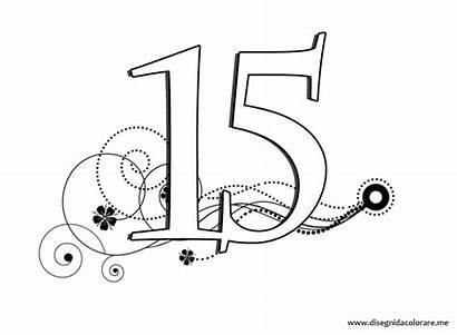 Stampare Numero Numeri Colorare Disegnidacolorare Disegni