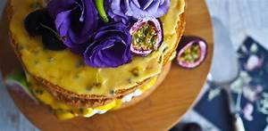 What Is Violet In Light As A Feather Passionfruit Sponge Cake Not Quite Nigella
