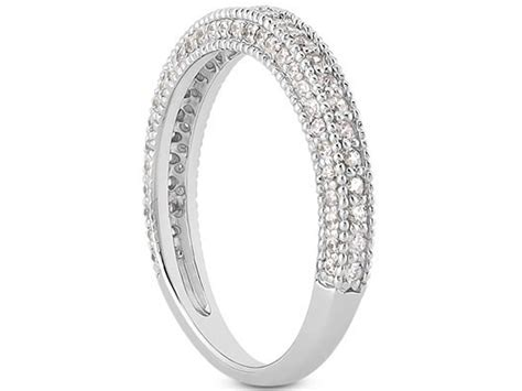 15 Best Collection Of White Gold Milgrain Wedding Bands Jewelry Set Online African Chain Jewellery Near Me Hammer Christian Fish Does Off Airport Security Price Jcpenney