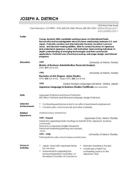 resume templates  resume template downloads