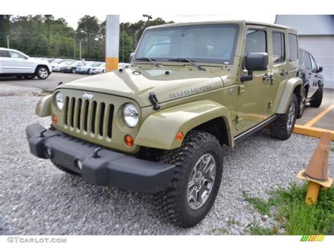 jeep unlimited green 2013 commando green jeep wrangler unlimited rubicon 4x4