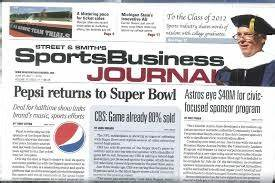 Sports Business Journal seeks assistant managing editor ...