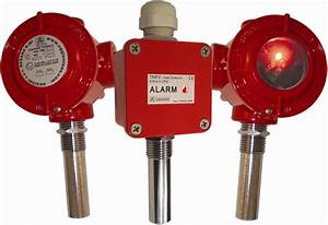 Heat Detector  Electronic With Static Alarm Threshold And