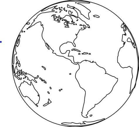 earth outline globe globe image clip at clker vector clip
