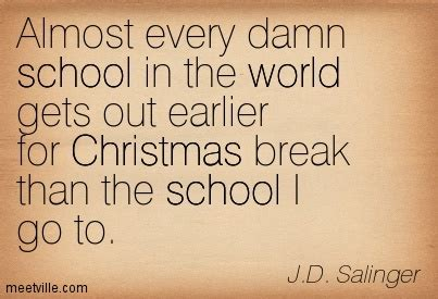 why i school quote about school