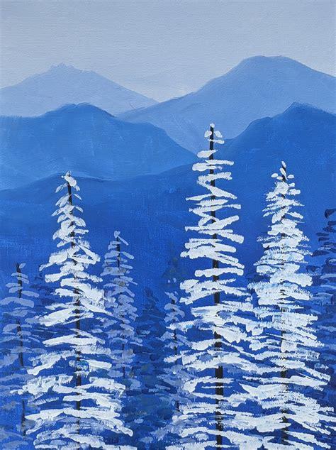 Virtual Acrylic Painting Class - Canvas