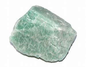 Amazonite Rough Natural Crystal (Emotions / Truth