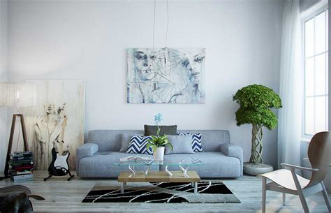 grey and blue living room ideas gray living room for minimalist concept amaza design
