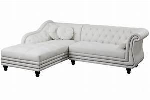 photos canape chesterfield velours blanc With canapé d angle romantique