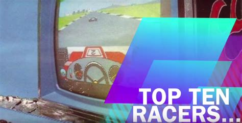 Amstrad Top Ten Racers Classic Replay