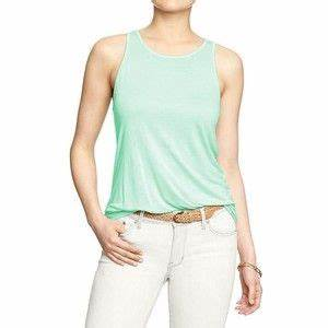 Old Navy Womens High Neck Tanks Mini mint