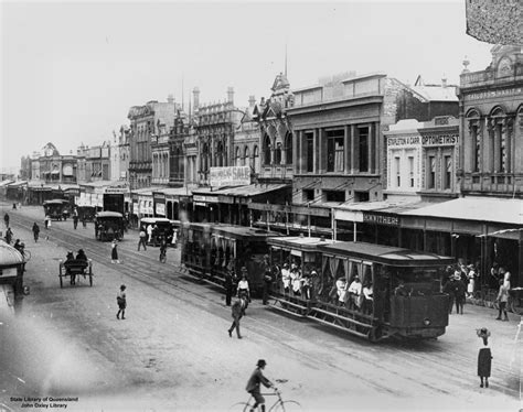 Boat License Expired Nsw by File Statelibqld 2 187307 Trams And Other Vehicles On East
