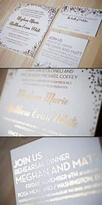 foil wedding invitations smock With wedding invitations with foil print