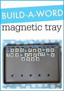 build a word magnetic tray decoding spelling and With magnetic letter trays