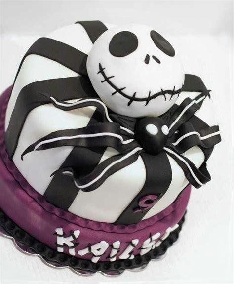 jack skellington   nightmare  christmas cake