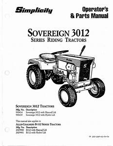 Sovereign 3012 Series Manuals