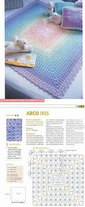 Interesting Granny Square Variation    Good Diagram  Translation Not Necessary    With Images