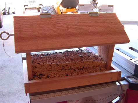 build  bird feeder small diy woodworking project youtube