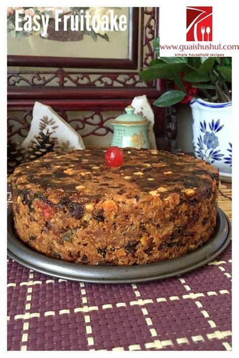 eggless fatless  ingredients simple fruit cake