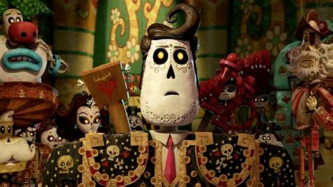 Trailer For Guillermo Del Toro's 'book Of Life' Teases