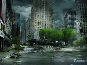 Abandoned City Speed Art - YouTube