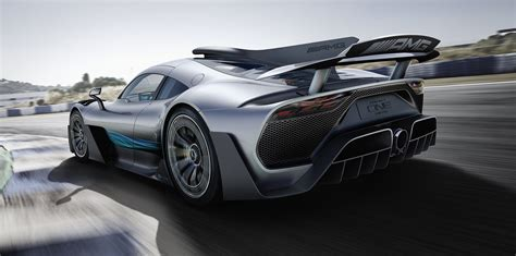 mercedes amg project  revealed  car   road