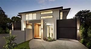 Contemporary Duplex By Carter Grange  Melbourne   Click On