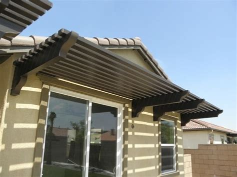 Wood Awnings For Homes by Horizontal Slat Awning All Wood Home