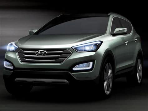 Hyundai Santa Fe / ix45 pictures revealed | Hyundai santa fe, New hyundai, New hyundai santa fe