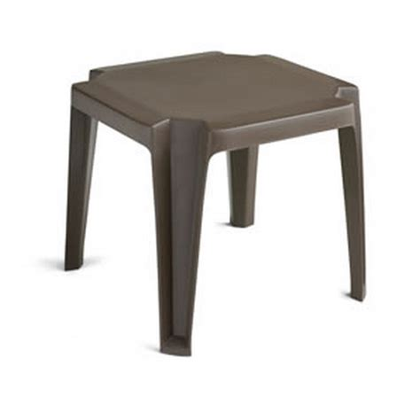 outdoor plastic side tables table designs