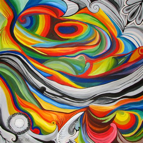www colors paintings with bursts of colors pokkisam