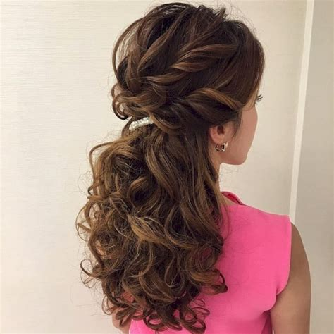 Bridesmaid Hairstyles For Hair Half Up by 48 Beautiful Half Up Hairstyles Ideas For Bridesmaid Vis Wed