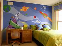 interesting kidsroom wall mural 5 Cool Bedroom Theme Ideas for Kids | The Discovery Blog