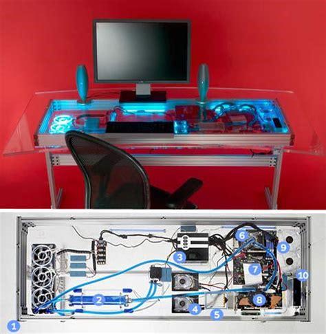 built in computer desk plans computer built into desk plans woodworktips