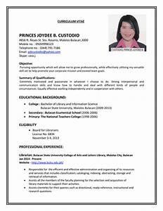 JOB RESUME Cv Resume Templates examples