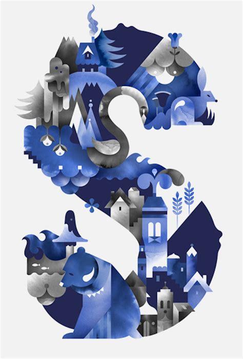 S Letter Design