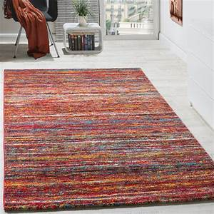 Teppich Modern Wohnzimmer : teppiche modern wohnzimmer teppich spezial melierung rot ~ Lizthompson.info Haus und Dekorationen